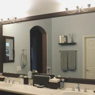 Diy Frame Bathroom Mirror Engrossing