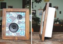 Diy Framed Fabric Speakers Farm Fresh Therapy