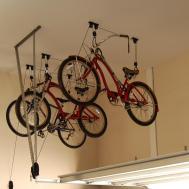 Diy Garage Bike Rack Storage Home Design Ideas