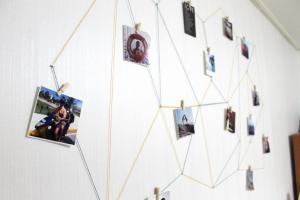 Diy Geometric Wall Display Lauren Likes Blog
