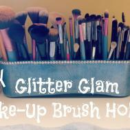 Diy Glitter Glam Make Brush Holder Easy