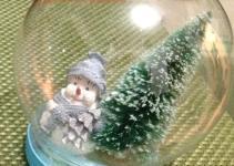 Diy Glitter Snow Globe