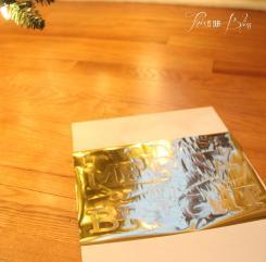 Diy Gold Foil Art Our Bliss