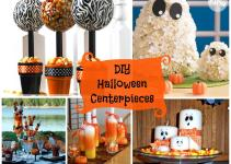Diy Halloween Centerpieces Zebra Celebrations