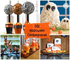 Diy Halloween Centerpieces Zebra Celebrations