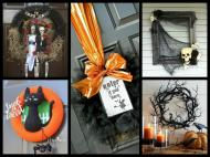 Diy Halloween Wreath Ideas Decorating