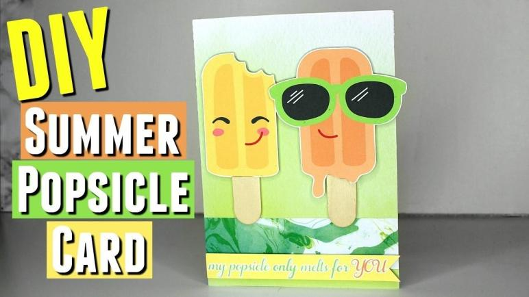 Diy Handmade Summer Themed Card Tutorial