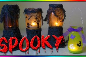 Diy Haunted Halloween Lanterns