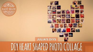 Diy Heart Collage Handmade