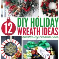 Diy Holiday Wreath Ideas Mom Impression Recipes