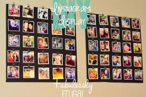 Diy Instagram Display Fabulessly Frugal