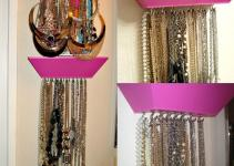 Diy Jewelry Necklace Holder