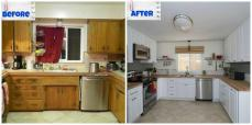 Diy Kitchen Makeover Cabinets Penrith Sydney Renovation