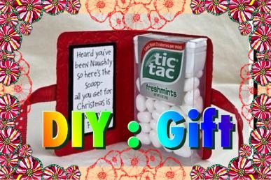 Diy Last Minute Funny Cute Christmas Gift Snowman
