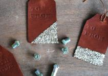 Diy Leather Stamped Gift Hometalk