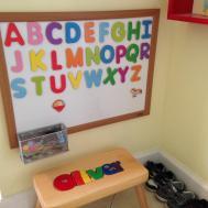 Diy Magnetic Alphabet Board Your Toddler Dad Mom