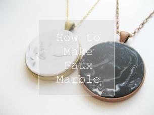 Diy Make Faux Marble Polymer Clay Tutorial