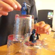 Diy Marbled Glassware Thecraftyleaf