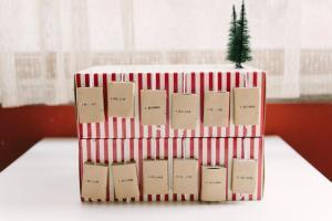 Diy Matchbox Advent Calendar Kittenhood