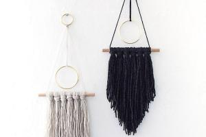 Diy Modern Yarn Hanging Homey
