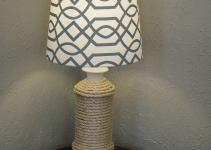 Diy Nautical Lamp Make Over Amy Allender Dot
