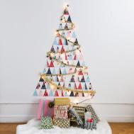 Diy Non Traditional Christmas Tree Out Holiday Cards