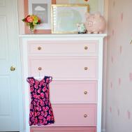 Diy Ombre Dresser Tutorial Project Nursery
