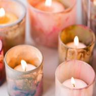 Diy Painted Votive Candle Holders Add Unique