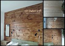 Diy Pallet Wall Once Upon Household
