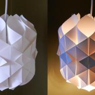 Diy Paper Lamp Lantern Cathedral Light Make