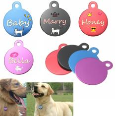 Diy Personalized Custom Engraved Double Sides Pet Tag