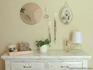 Diy Pink Distressed Dresser Room Interiors