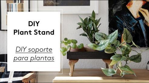 Diy Plant Stand Soporte Para Plantas