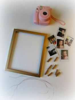 Diy Polaroid Frame Dream Big Buy Shoes