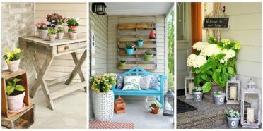 Diy Porch Cor Outdoor