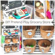 Diy Pretend Play Grocery Store Making Lemonade