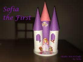 Diy Princess Sofia Castle Using Tissue Paper Rolls Kids