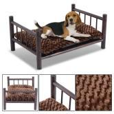 Diy Raised Wooden Dog Bed Bedding Sets Beds