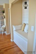 Diy Reading Nook Planked Walls
