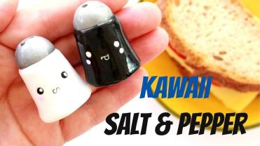 Diy Salt Pepper Shakers Functional Polymer Clay