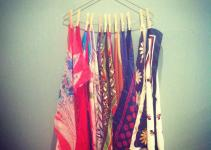 Diy Scarf Organizer Ideas