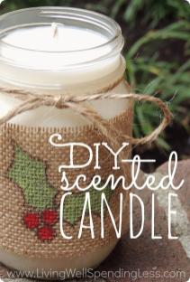 Diy Scented Candle Handmade Gifts Ideas Candles