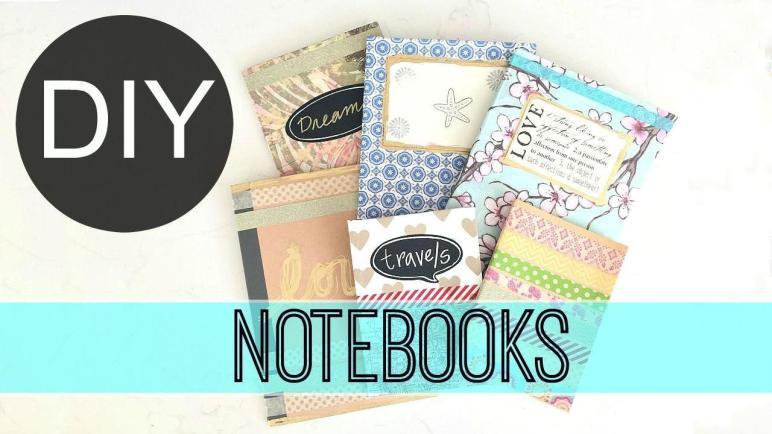 Diy School Supplies Anthropologie Inspired Notebooks
