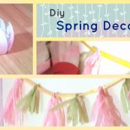 Diy Spring Decor Cute Projects