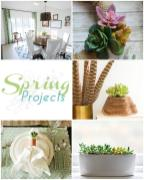 Diy Succulent Wreath Spring Projects Link Party 143