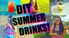 Diy Summer Drinks