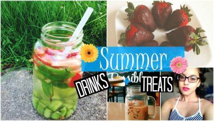Diy Summer Drinks Treats Spirited Gal