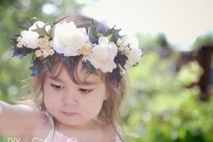 Diy Summer Flower Crown Headband Chymecindy
