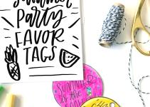 Diy Summer Party Favor Tombow Usa Blog