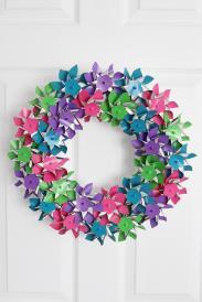 Diy Summer Wreath Idea
